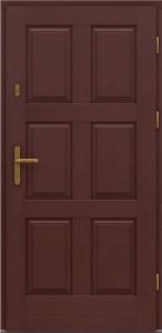 Входные деревянные двери стандарт