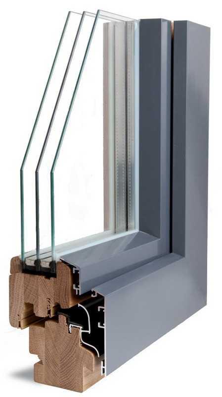 Надежные алюмодеревянные окна