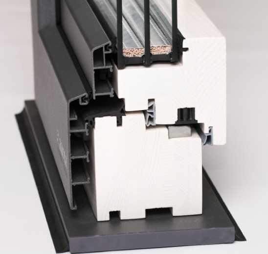Алюминиевые накладки на деревянные окна окна на заказ красноярск
