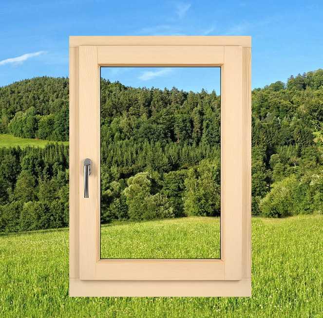 Купить деревянные окна можно выгодно и быстро