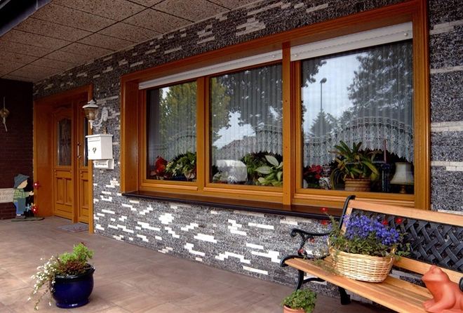 Окна из дерева со стеклопакетом от компании Krauts