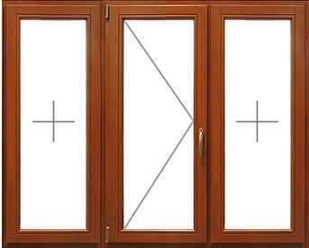 Купить окна из лиственницы