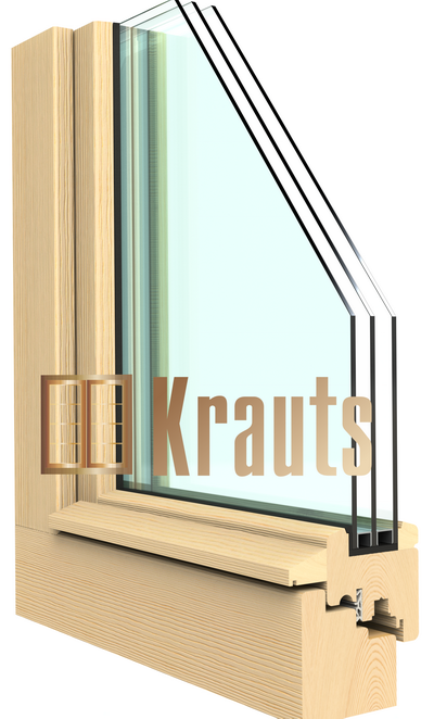 Деревянное окно Эконом