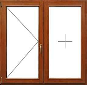 деревянные стеклопакеты - две рамы