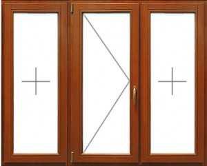 деревянные стеклопакеты - три рамы