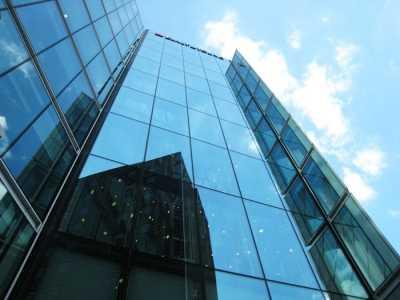 Фасад алюминиевого окна