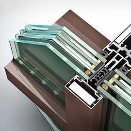 Система остекления алюминиевого окна