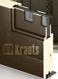 Входная деревянная дверь оптима со шпоном