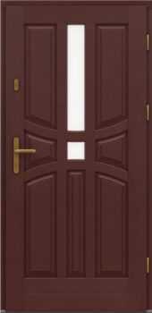 Входная деревянная дверь стандарт один