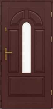 Входная деревянная дверь стандарт два