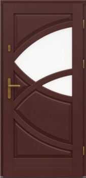 Входная деревянная дверь стандарт три