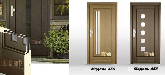 Входная деревянная дверь модель 455