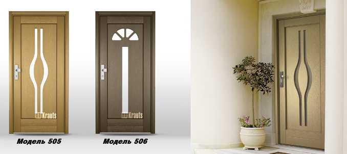 входная деревянная дверь модель 506