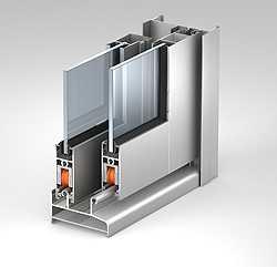 Алюминиевая оконная система