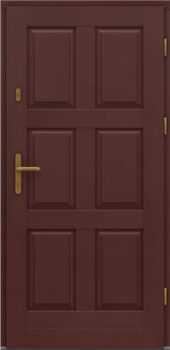 Входная деревянная дверь стандарт пятнадцать