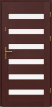 Входная деревянная дверь стандарт шестнадцать