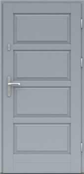 Входная деревянная дверь стандарт семнадцать