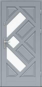 Входная деревянная дверь стандарт восемнадцать