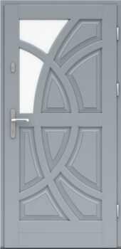 Входная деревянная дверь стандарт девятнадцать
