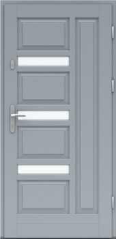 Входная деревянная дверь стандарт двадцать