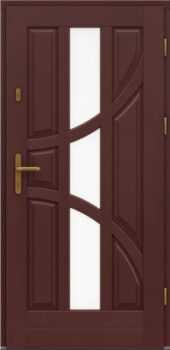 Входная деревянная дверь стандарт семь