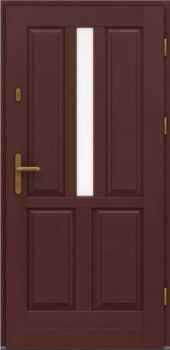 Входная деревянная дверь стандарт восемь