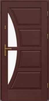Входная деревянная дверь стандарт девять